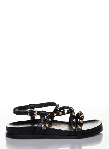 Efem Sandalet Siyah